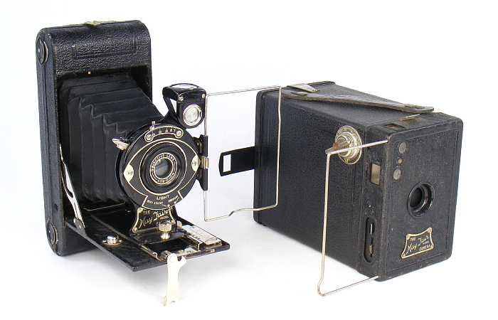 Image of May Fair folding and box cameras